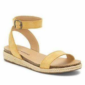 Lucky Brand Garston strappy espadrille sandals 11M